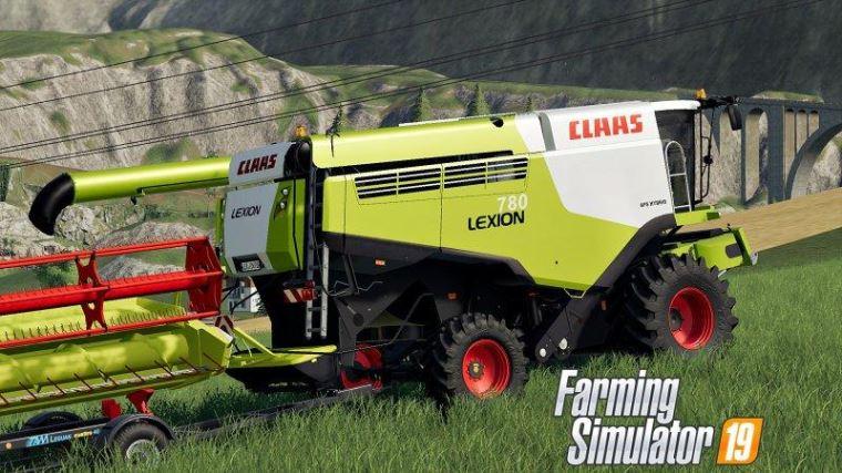 Мод Claas LEXION 780 v 1.0 для Farming Simulator 2019