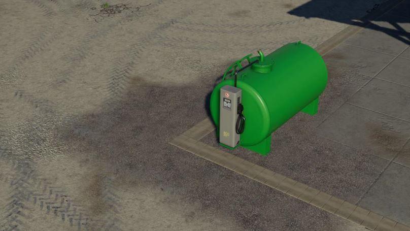 Мод Fueltank 5000l v 1.0 для Farming Simulator 2019