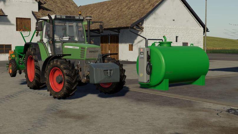 Мод Fueltank 5000l v 1.0.1.0 для Farming Simulator 2019