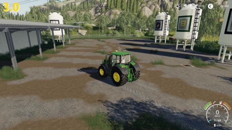 Мод Карта Felsbrunn Umbau - Multiplayer fahig v 4.0 для Farming Simulator 2019
