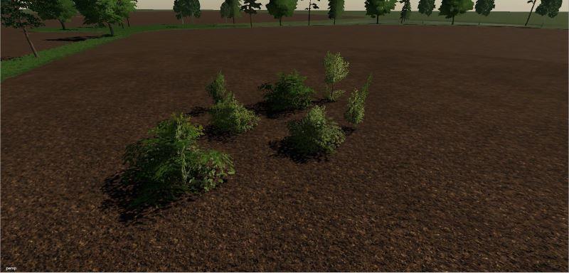 Мод Deko Plants Prefab v 1.0.2 для Farming Simulator 2019