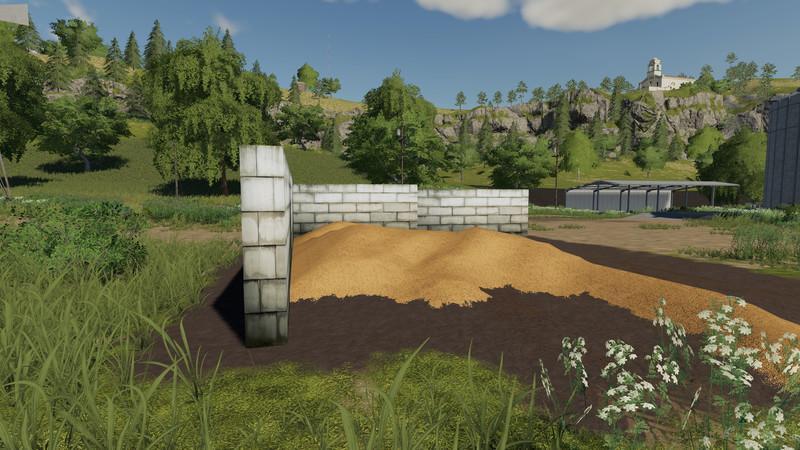 Мод Placeable walls by Uniquestax92 v 1.0 для Farming Simulator 2019