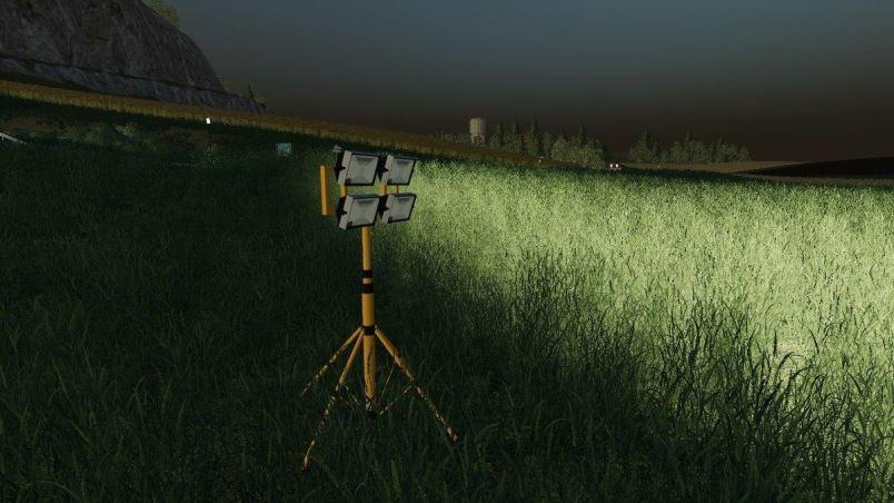 Мод Forst und Feldstrahler v 1.0 для Farming Simulator 2019