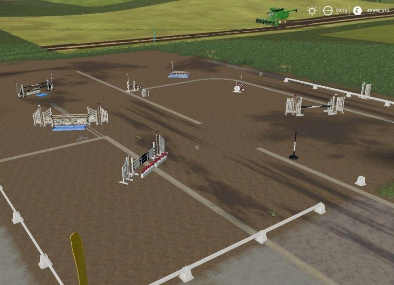 Мод Equestrian field v 1.0.0.1 для Farming Simulator 2019