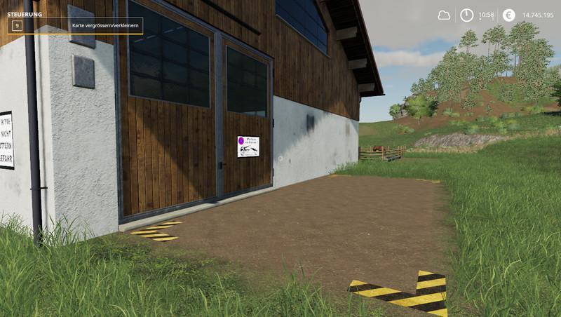 Мод Конюшня v 1.1 для Farming Simulator 2019