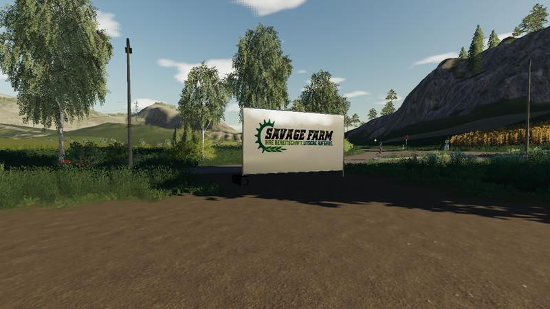 Мод Hoarding with Branding v 1.0 для Farming Simulator 2019