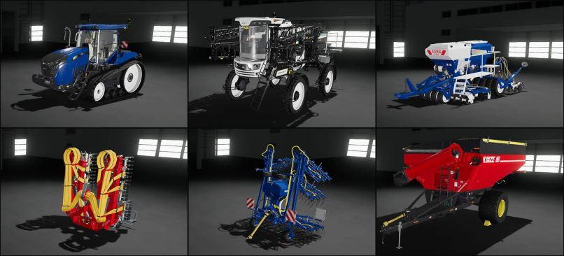 Мод Paint Canvas Mod v 1.0 для Farming Simulator 2019