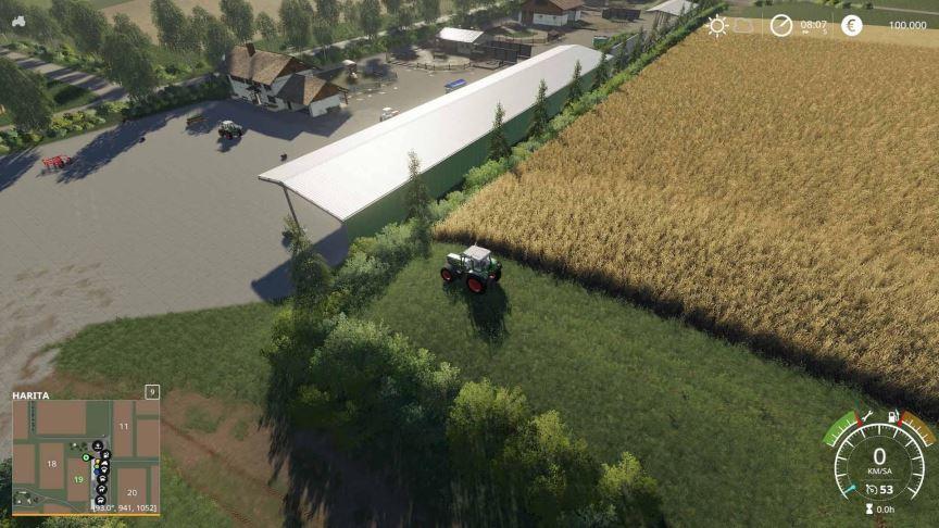Мод Карта Felsbrunn By Cirock v 0.1 для Farming Simulator 2019