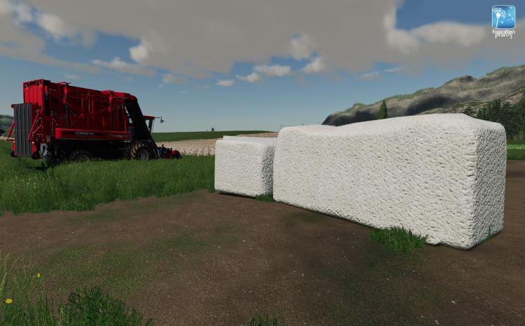 Мод Forgotten Plants - Cotton v 1.0 для Farming Simulator 2019