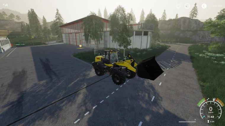 Мод WheelLoaderShovel 15000L v 1.0 для Farming Simulator 2019