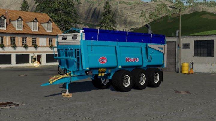 Мод Maupu 16T + 18T + 24T Evo v 1.0 для Farming Simulator 2019