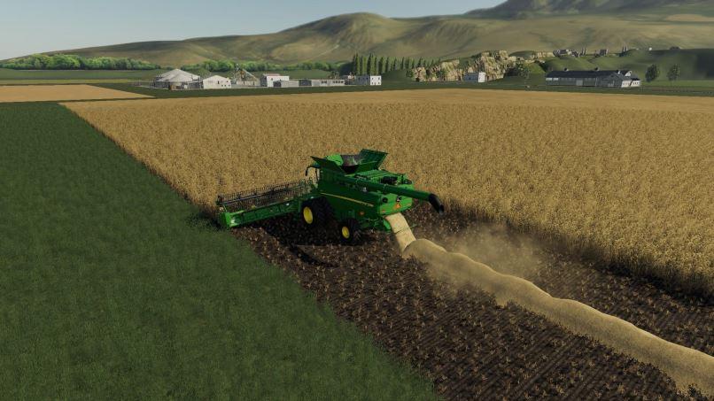 Мод Карта Honey Dew Farms v 1.0.0.1 для Farming Simulator 2019