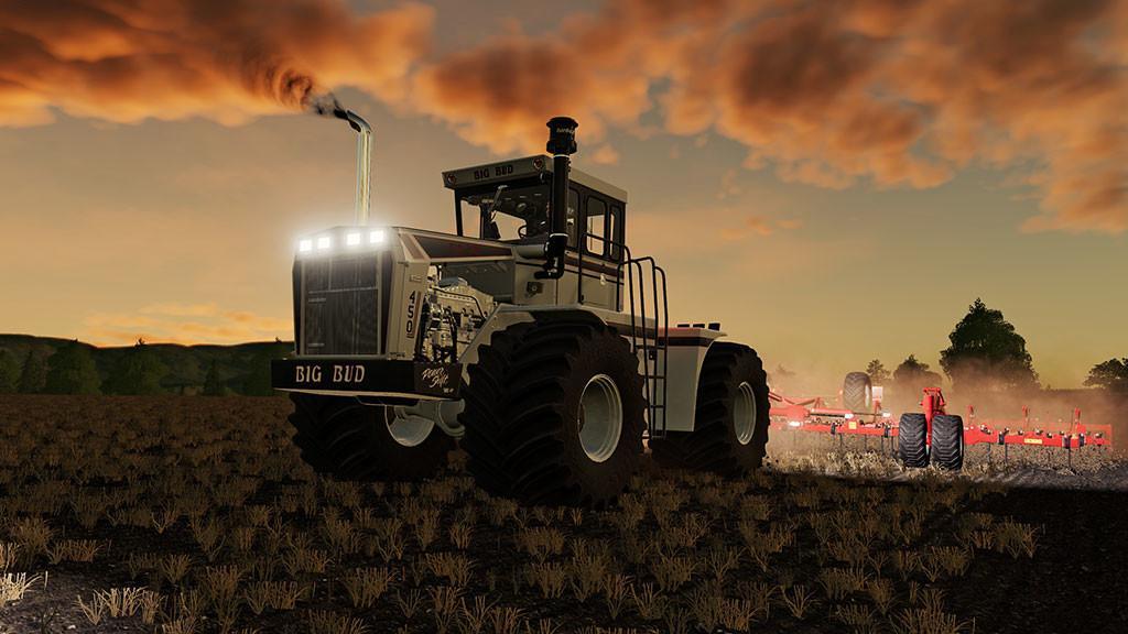 Мод Big Bud 450 v 1.0 для Farming Simulator 2019