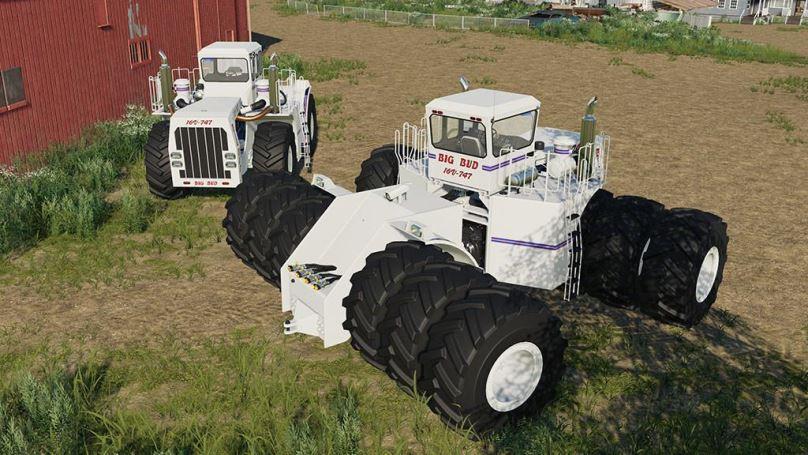 Мод Big Bud 747 v 1.0.1.0 для Farming Simulator 2019
