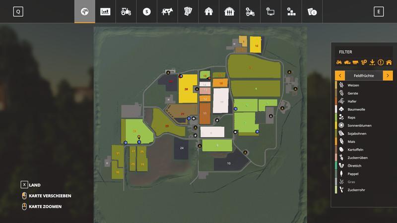 Мод Карта Bettingen Map v 1.0.3 для Farming Simulator 2019