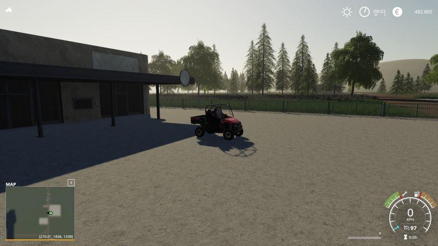 Мод Карта HorseTrailFarm v 1.0 для Farming Simulator 2019