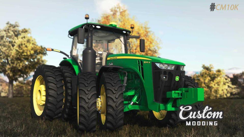 Мод Трактор John Deere 8RT v 1.0 для Farming Simulator 2019