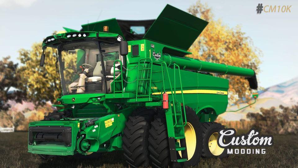Мод John Deere S700 v 1.0 для Farming Simulator 2019