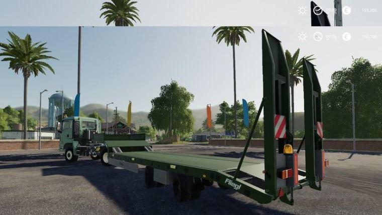 Мод Flielg semi trailer v 1.1 для Farming Simulator 2019