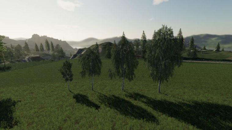 Мод Пак Placeable trees v 2.0 для Farming Simulator 2019