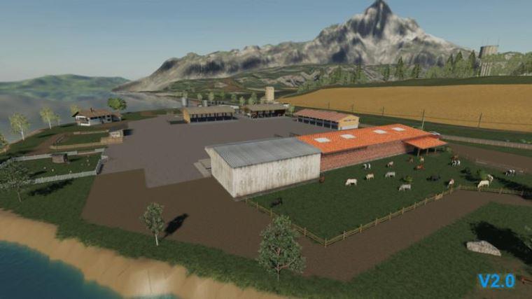 Мод Карта Volksbrunn v 2.0X для Farming Simulator 2019