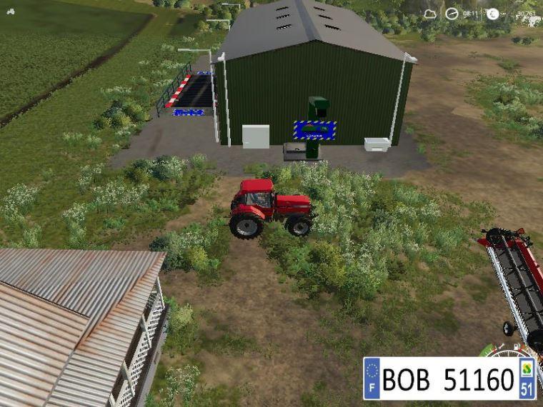 Мод FarmSilo (Reworked BY BOB51160) v 1.5 для Farming Simulator 2019