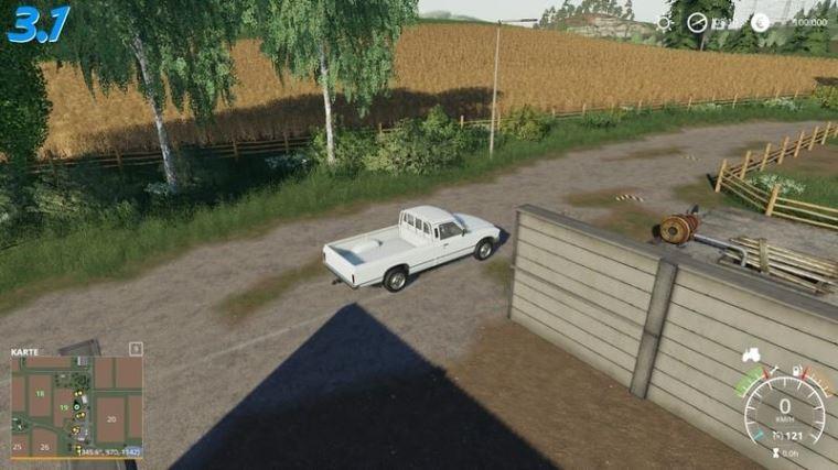 Мод Карта Felsbrunn Conversion - Multiplayer capable v 3.1 Forgotten Plants для Farming Simulator 2019