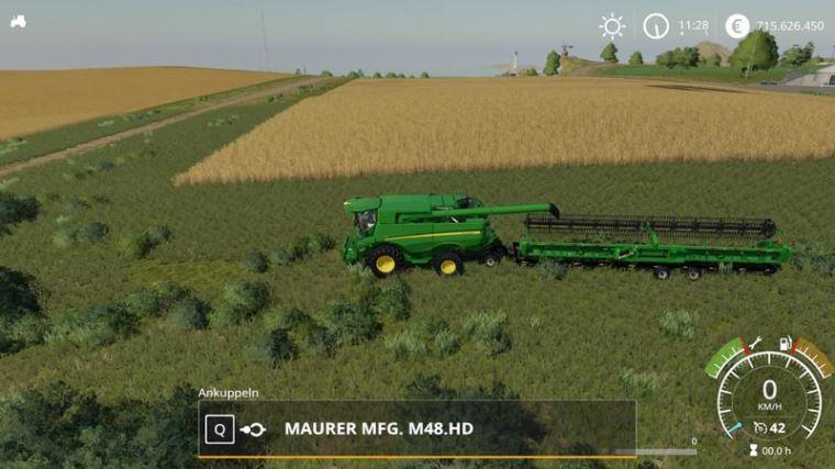 Мод Maurer Manufacturing M48.HD v 2.0.0.1 для Farming Simulator 2019