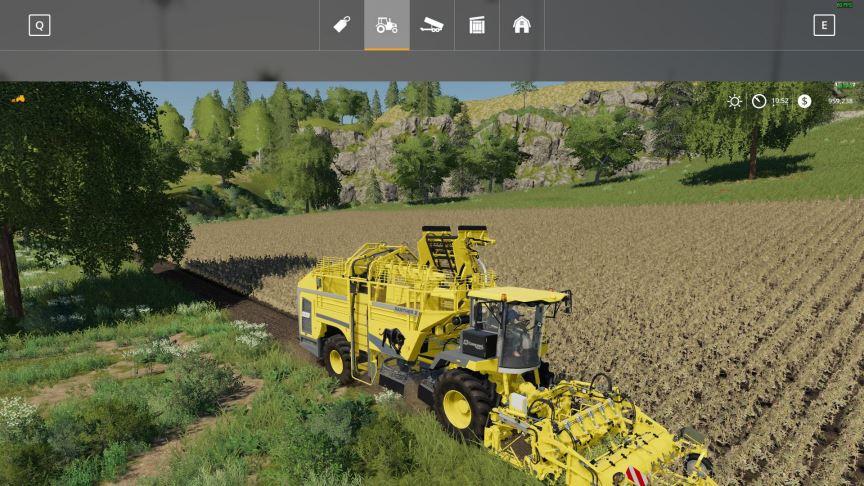 Мод Ropa Potato Harvester Pack v 1.0 для Farming Simulator 2019