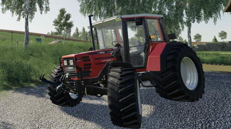 Мод Same Explorer-II 90 Turbo v 1.0 для Farming Simulator 2019