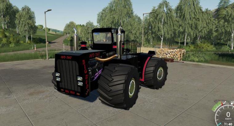 Мод Big Bud 747-450 Black Beast v 1.0.1.1 для Farming Simulator 2019