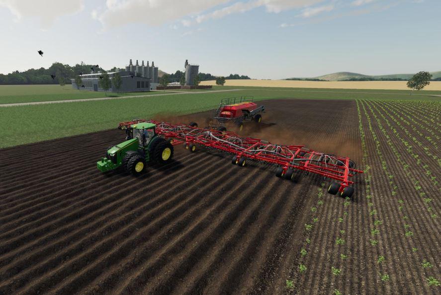 Мод Seed HAwk Pack v 1.0 для Farming Simulator 2019