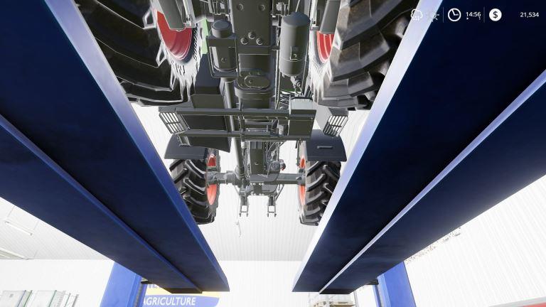 Мод Mechanic Garage v 2.0 для Farming Simulator 2019