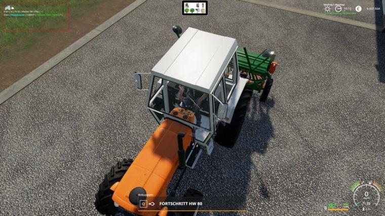 Мод Скрипт VehicleInspector v 1.49 Beta для Farming Simulator 2019