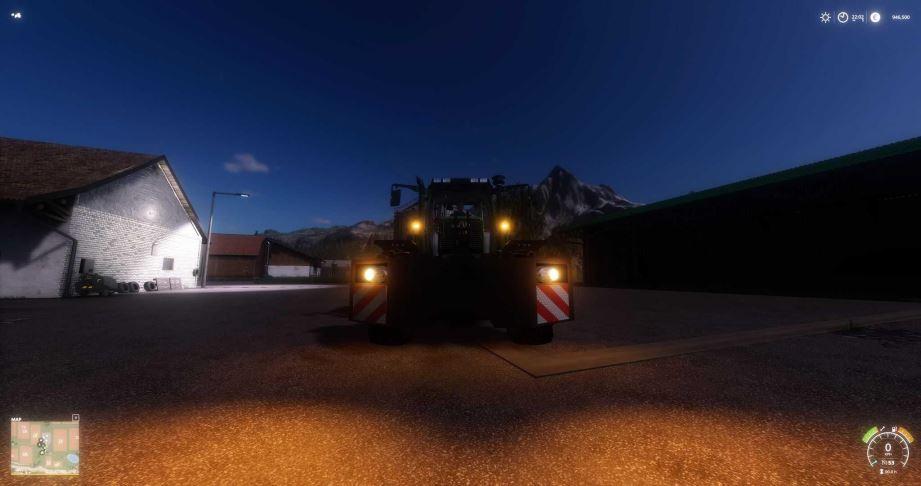 Мод Jacobsens Weights v 1.0 для Farming Simulator 2019