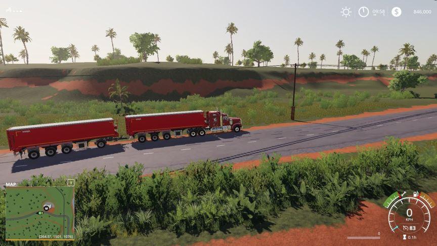 Мод Krampe SB3060 with trailer hitch v 1.1 для Farming Simulator 2019