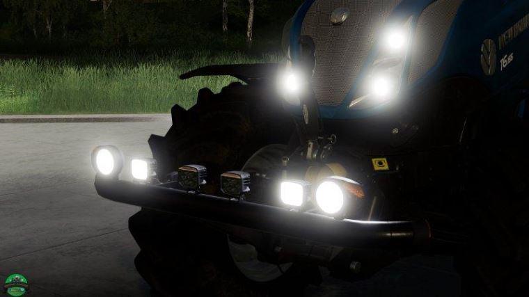 Мод Bumper Lights v 1.0 для Farming Simulator 2019