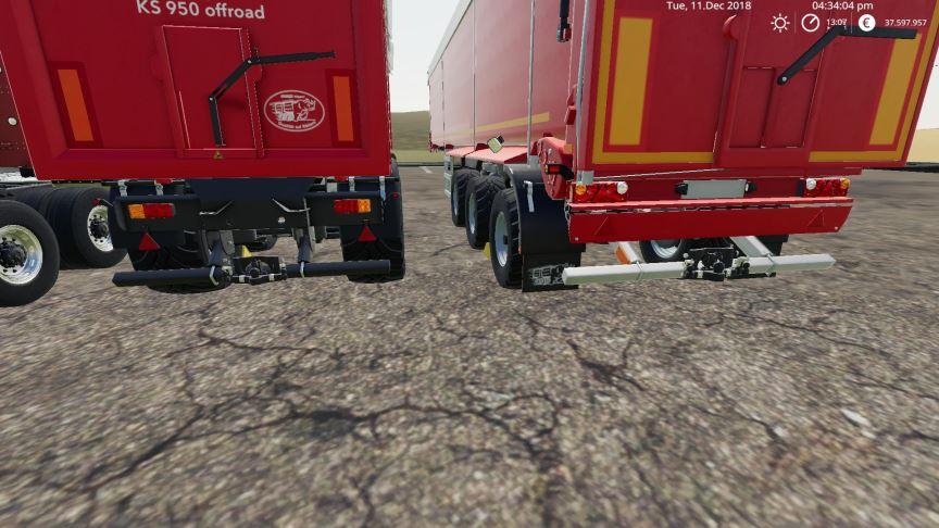 Мод Krampe trailers v 1.0.0.2 для Farming Simulator 2019