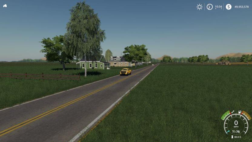 Мод Карта Honey Dew Farms XL v 1.0.0.4 для Farming Simulator 2019