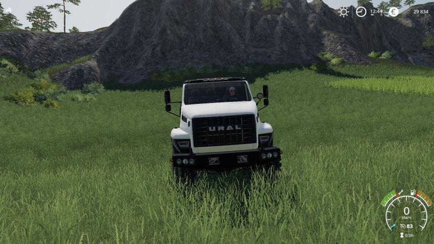 Мод Урал Next v 1.0 для Farming Simulator 2019