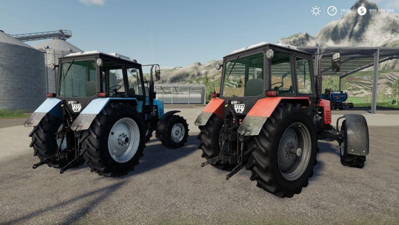Мод Пак МТЗ-1221 v 1.0.0.3 для Farming Simulator 2019