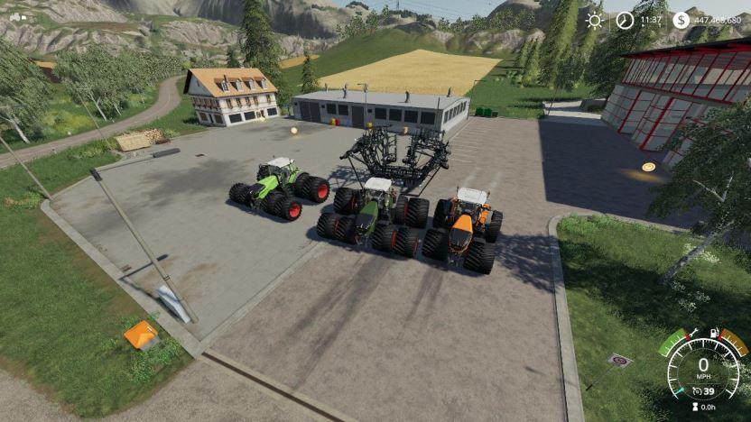 Мод Beast Fendt 1000 Vario VE v 1.0 для Farming Simulator 2019