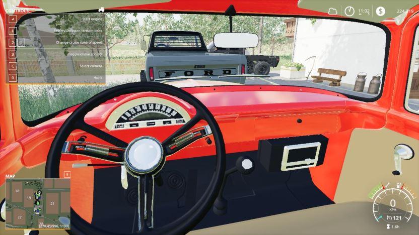 Мод 1956 Ford F100 v 1.0 для Farming Simulator 2019