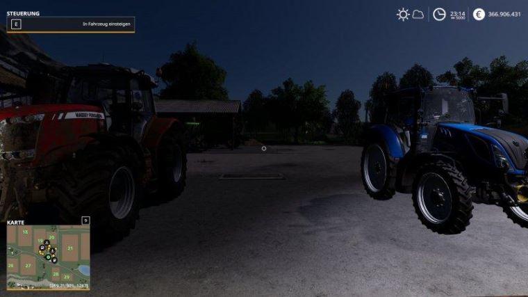 Мод Night rest v 1.0 для Farming Simulator 2019