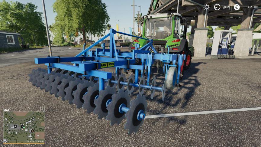 Мод Rabe Sturbock v 1.0 для Farming Simulator 2019