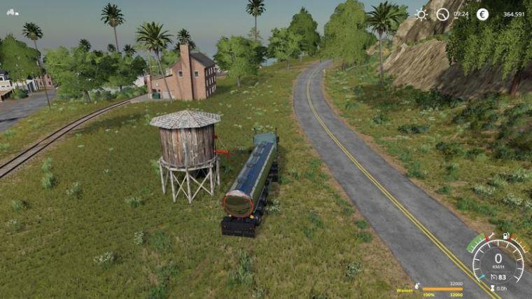 Мод Водонапорная башня v 1.0 для Farming Simulator 2019