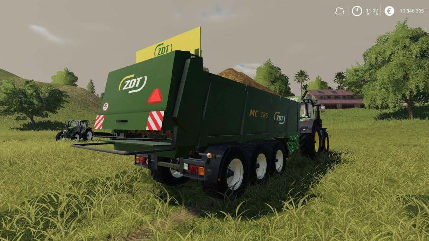 Мод ZDT MC186 v 1.0 для Farming Simulator 2019