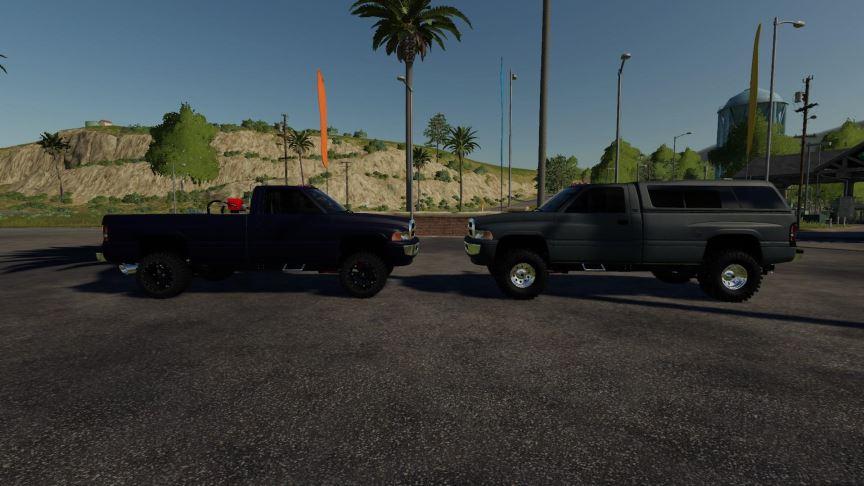 Мод 2nd Gen Dodge regular cab longbed v 1.0 для Farming Simulator 2019