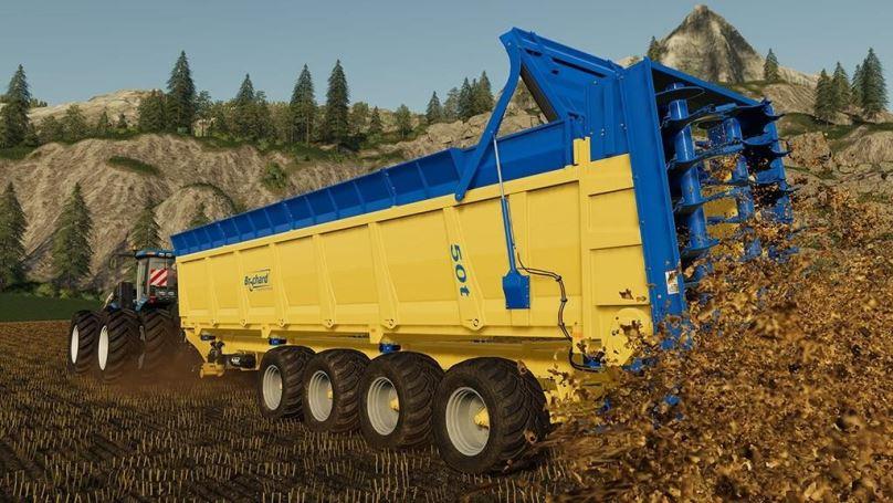 Мод Brochard EV 2200 v 1.0 для Farming Simulator 2019