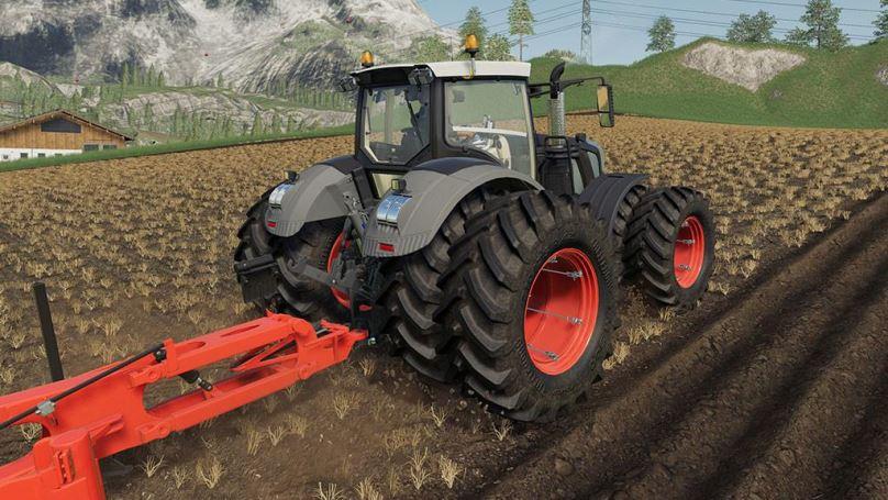 Мод Fendt 900 Black Beauty v 1.0 для Farming Simulator 2019
